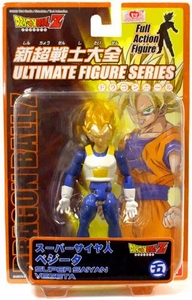 Dragonball Z Ultimate Figure Series 2 Super Poseable Action Figure SS Vegeta