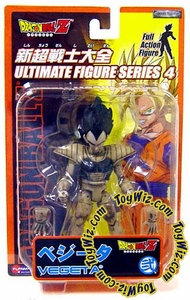 Dragonball Z Ultimate Figure Series 4 Super Poseable Action Figure Vegeta