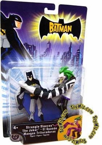 The Batman Animated Action Figure Strangle Sleeves Joker