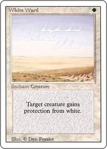 Magic the Gathering Revised Edition Single Card Uncommon White Ward