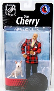 McFarlane Toys NHL Sports Picks Canadian Exclusive Action Figure Don Cherry with Blue the Dog