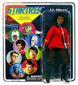 Diamond Select Star Trek Original Series Cloth Retro Action Figure Series 5 Uhura