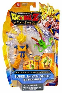 Dragonball Z Ultimate Collection 4 Inch Figure Super Saiyan Goku [Shenron Dragon Head!]
