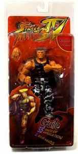 NECA Player Select Street Fighter IV Survival Mode Action Figure Guile