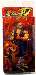 NECA Player Select Street Fighter IV Survival Mode Action Figure Ken