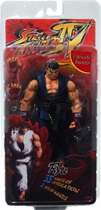NECA Player Select Street Fighter IV Action Figure  [Blue Gi & Yellow Head Band]