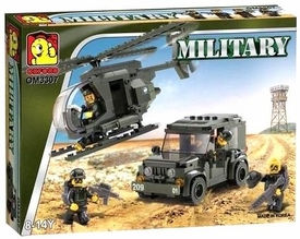 IMEX Oxford Set #3307 Military Series Helicopter & Jeep