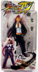 Street Fighter IV NECA Series 1 Player Select Action Figure C. Viper