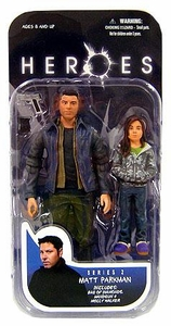 Heroes Mezco Toyz Series 2 Action Figure Matt Parkman & Molly Walker