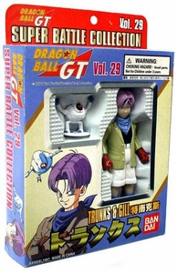 Dragon Ball GT Bandai Japanese Super Battle Collection Action Figure Vol. 29 Trunks & Gill