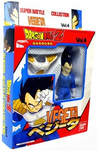 Dragonball Z Bandai Japanese Super Battle Collection Action Figure Vol. 4 Vegeta