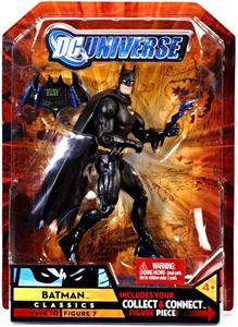 DC Universe Classics Series 10 Exclusive Action Figure Batman {Black Suit} [Build Imperiex Piece!]