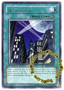YuGiOh GX Duelist Pack Jaden Single Card Rare DP1-EN021 Skyscraper
