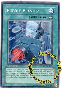 YuGiOh GX Duelist Pack Jaden Single Card Super Rare DP1-EN023 Bubble Blaster