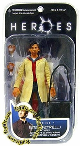 Heroes Mezco Toyz Series 1 Action Figure Peter Petrelli