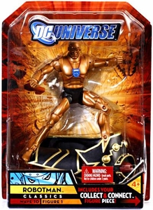 DC Universe Classics Series 10 Exclusive Action Figure Robotman [Build Imperiex Piece!]