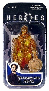 Heroes Mezco Toyz Exclusive Action Figure Exploding Man Peter