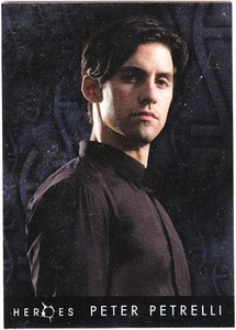 Heroes Topps Trading Cards Foil Character Card 2 of 10 Peter Petrelli