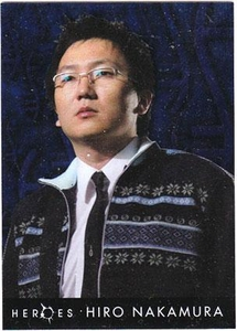 Heroes Topps Trading Cards Foil Character Card 3 of 10 Hiro Nakamura