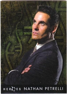 Heroes Topps Trading Cards Foil Character Card 4 of 10 Nathan Petrelli