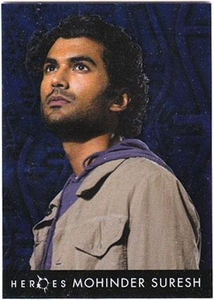 Heroes Topps Trading Cards Foil Character Card 6 of 10 Mohinder Suresh