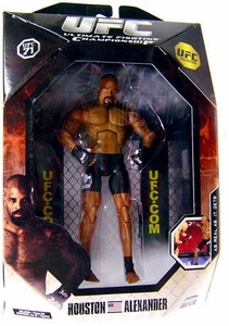 UFC Jakks Pacific Exclusive Series 0 Deluxe Action Figure Houston Alexander