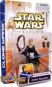 Star Wars Clone Wars Action Figure Army Of The Republic Anakin Skywalker  BLOWOUT SALE!
