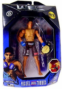 UFC Jakks Pacific Exclusive Series 0 Deluxe Action Figure Miguel Angel Torres [WEC]