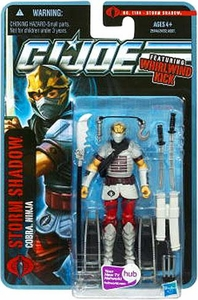 GI Joe Pursuit of Cobra 3 3/4 Inch Action Figure Storm Shadow {Version 6} [Cobra Ninja]