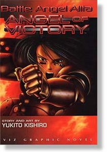 Manga Viz Graphic Novel Yukito Kishiro's Battle Angel Alita - Angel of Victory