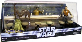 Star Wars Original Trilogy K-Mart Exclusive Mos Eisley Cantina 3 Pack Series 1
