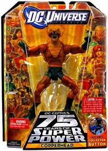 DC Universe Classics Series 12 Action Figure Copperhead [Build Darkseid Piece!]