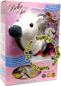 Bella Sara 5 Inch Plush Horse Figure Gift Box Bella [White Horse]
