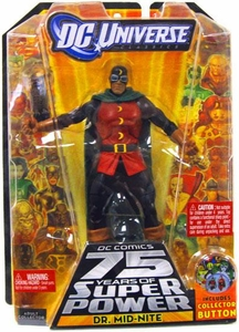 DC Universe Classics Series 12 Action Figure Dr. Mid-Nite [Build Darkseid Piece!]