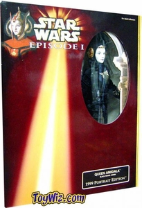 Star Wars Phantom Menace 1999 Portrait Edition 12 Inch Queen Amidala [Travel Gown]