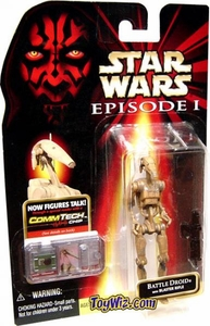 Star Wars Phantom Menace Action Figure Battle Droid [Random Deco]