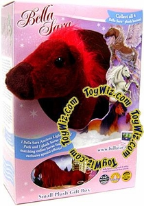 Bella Sara 5 Inch Plush Horse Figure Gift Box Fiona [Red Horse]