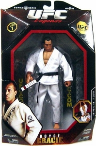 UFC Jakks Pacific Exclusive Series 0 Deluxe Action Figure Royce Gracie [Legend]