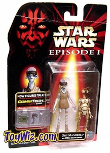 Star Wars Phantom Menace Ody Mandrell with OTOGA 222 Pit Droid