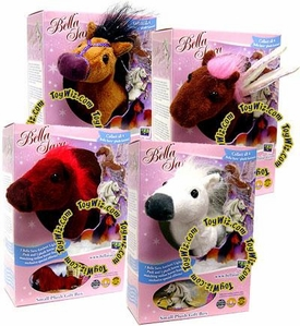 Bella Sara Set of all 4 Plush 5 Inch Horse Figure Gift Boxes