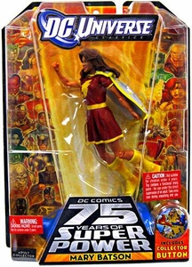 DC Universe Classics Series 12 Action Figure Mary Batson {Red Outfit} [Build Darkseid Piece!]
