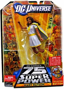 DC Universe Classics Series 12 Action Figure Mary Batson {White Outfit Variant} [Build Darkseid Piece!]
