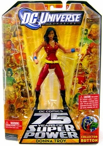 DC Universe Classics Series 13 Action Figure Donna Troy [Build Trigon Piece!]