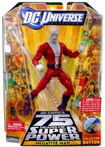 DC Universe Classics Series 13 Action Figure Negative Man {With Bandages} [Build Trigon Piece!]