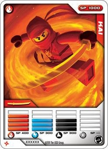 LEGO Ninjago Single Card 1/81 Kai