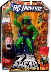 DC Universe Classics Series 15 Action Figure Martian Manhunter [J'onn J'onzz] {Martian Head Variant} [Build Validus Piece!]