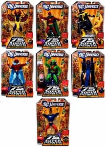 DC Universe Classics Series 15 Set of 7 Action Figures {RANDOM Martian Manhunter & Starman} [Build Validus Figure]
