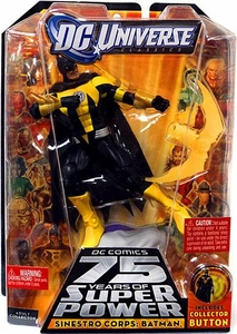 DC Universe Classics Series 15 Action Figure Sinestro Corps Batman [Build Validus Piece!]