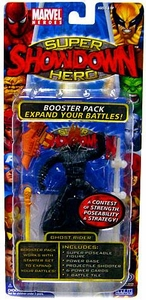 Marvel Heroes Super Hero Showdown Booster Pack with Super Poseable Action Figure Ghost Rider