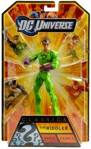 DC Universe Classics Series 16 Action Figure Riddler [Build Bane Piece!]